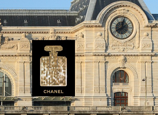 chanel Chanel No. 5 Adds Sparkle to Musée d'Orsay