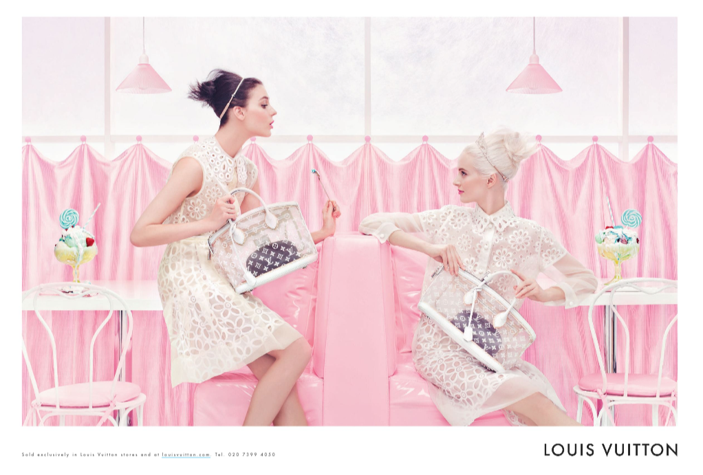 Louis Vuitton, LVMH, 2012, advertisement, ad, spring, summer, beauty, fashion, makeup