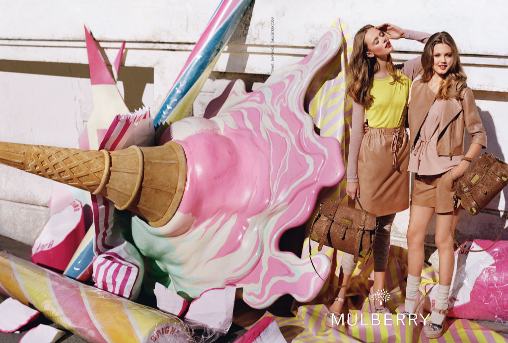 Mulberry, 2012, advertisement, ad, spring, summer, beauty, fashion, makeup