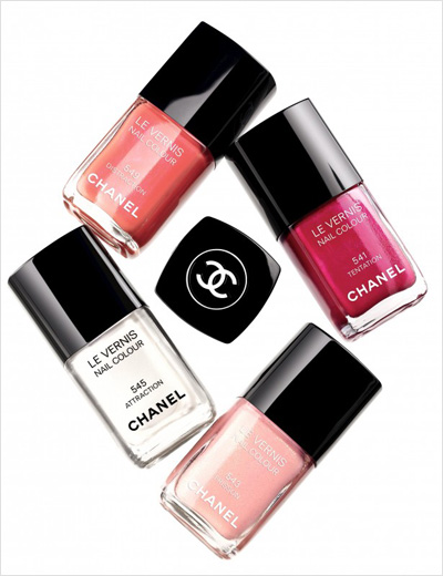 Chanel, Nail polish, Peter Philips, Cosmetics, Beauty, Nails, Attraction, Roses Ultimes de Chanel, Jalousie