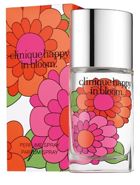 clinique, happy, happy in bloom, perfume, scent, fragrance, happy in bloom 2012, beauty