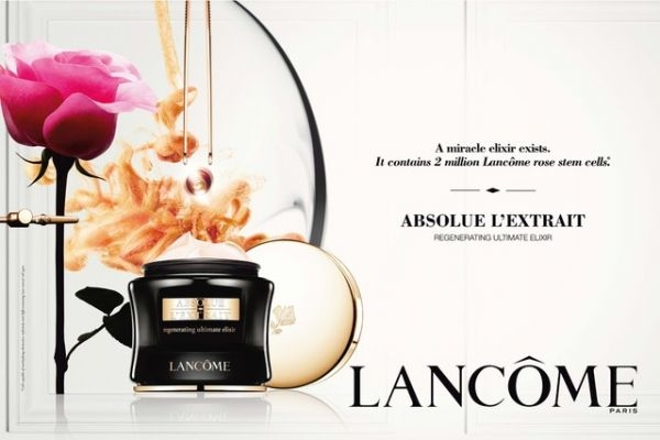 Lancôme, Stem cell, Visionnaire, Beauty, skin care, rose, Absolue L'Extrait